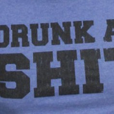 Son T-shirt Drunk as shit