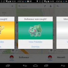 version Pokémon de l'application Google Maps